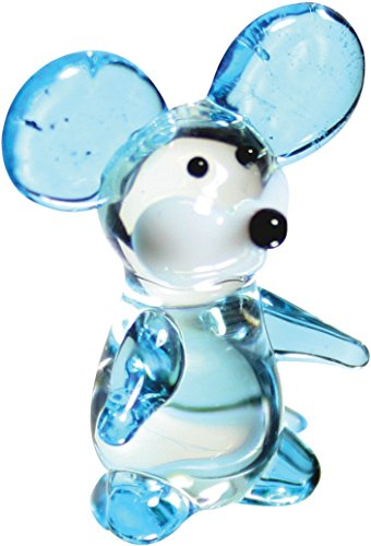 (Looking Glass Squeak the Mouse Miniature Glass Collectible (Pack of 12))