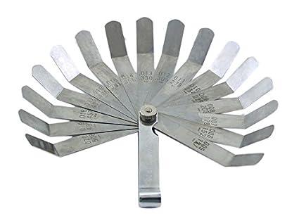 OEMTOOLS 25024 22 Blade Go-No-Go Feeler Gauge GREAT NECK