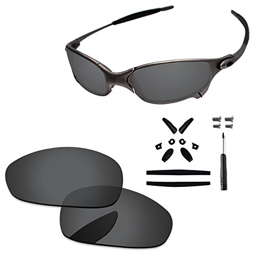 da4a36f2c0 PapaViva Replacement Lenses   Rubber Kits for Oakley Juliet. BlazerBuck Anti-salt  Polarized ...