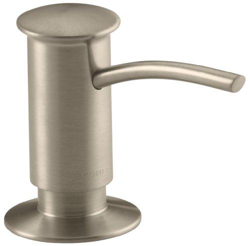 Kohler K-1895-C-BV Soap/Lotion Dispenser with Contemporary Design (Clam Shell Packed), Vibrant Brushed Bronze by Kohler