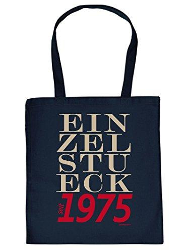 EINZELSTUECK seit 1975 :Tote Bag Henkeltasche. Beutel mit Aufdruck. Tragetasche, Must-have, Stofftasche