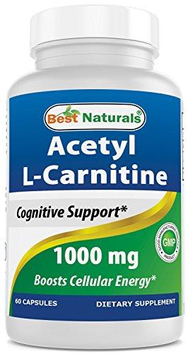 Best Naturals Acetyl L-Carnitine 1000mg Capsule, 60 ()