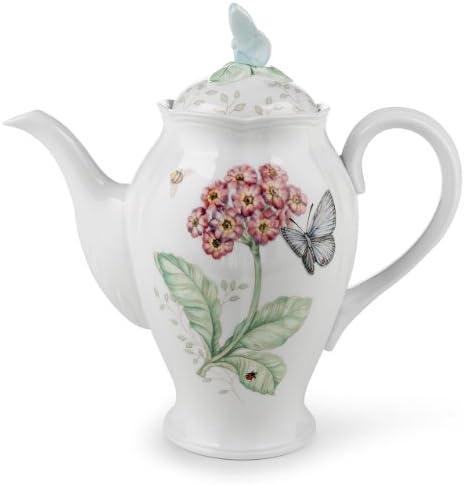 Lenox Butterfly Meadow Coffee Pot with Lid by Lenox