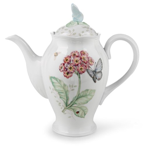 Coffee Butterfly Meadow - Lenox Butterfly Meadow Coffee Pot with Lid