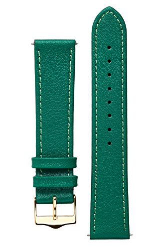 signature-seasons-in-green-20-mm-watch-band-replacement-watch-strap-genuine-leather-gold-buckle