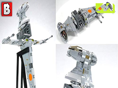 Clip: LEGO B-wing Starfighter MOC! (B Wing Starfighter Lego)