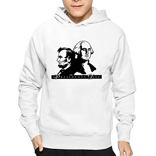 B Lan Mens Office Closed For Presidents Day Sweatshirt White