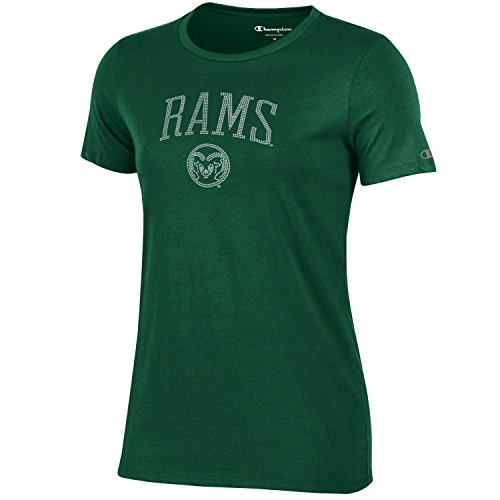 Champion NCAA Women's University V-Neck 1, Colorado State Rams, Small