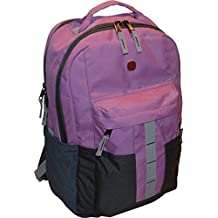 "SwissGear Ero 16"" Laptop Backpack Travel School Bag Pink"