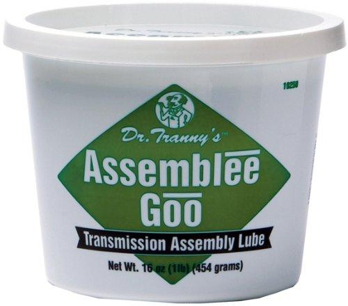 Lubegard 19250 Dr. Tranny Assemblee Goo, Green, Firm Tack Lubricant, 16 oz. ()