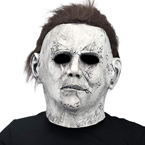 Aqkilo Michael Myers Mask Halloween Costume Party Latex Creepy Mask
