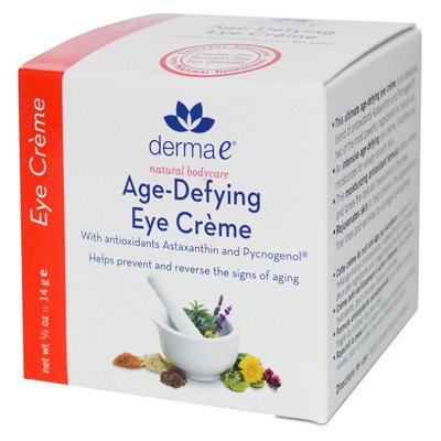 Age-Defying Eye Creme avec l'astaxanthine et Pycnogenol 0,50 Onces