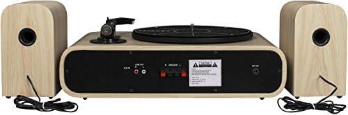 Crosley Gig - Tocadiscos de Dos velocidades con Altavoces y ...
