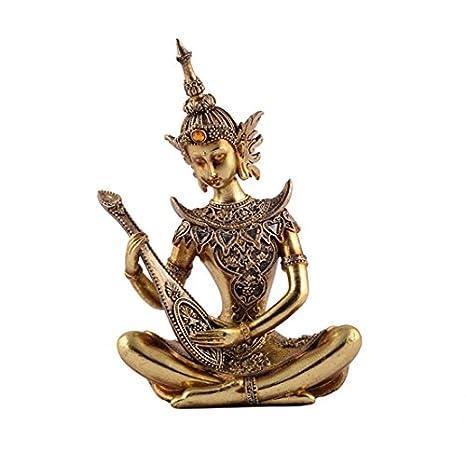 Buy Ethnic Karigari Home Decor Antique Artifacts Buddha Statues