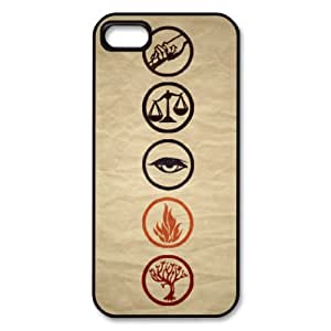 Divergent Hard Shell Case for Iphone 4 / 4g / 4s in Black Color
