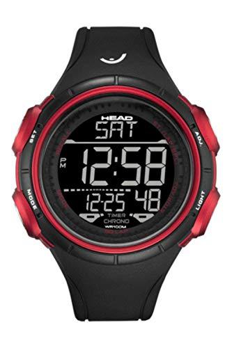 Sports 100m Watch (Slalom Men's Sport Digital Watch. Waterproof 100M Quartz Movement with World Time Zones, Light, Stopwatch, Timer. Designed in Italy.)