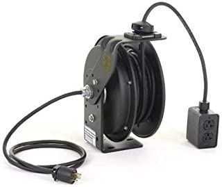 product image for Retractable Cord Reel with 25 ft. Cord 4-Outlet 12/3