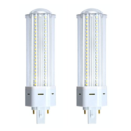 - Bonlux 2-Pack Non-dimmable 22W G24 2-pin Base LED Bulb, 360 Degree Angle G24 PL-C Lamp for 42W CFL/Compact Fluorescent Equivalent Lamp Replacement (Must REWIRE to Remove The Ballast, Warm White)