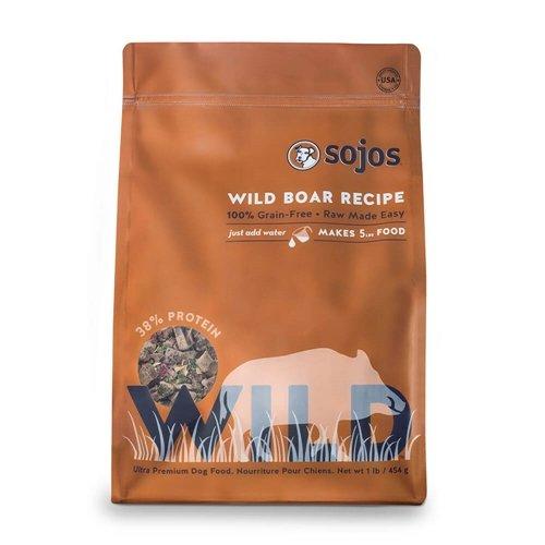 Sojos Wild Free-Range Dog Food Boar 1 (Sojos Grain)