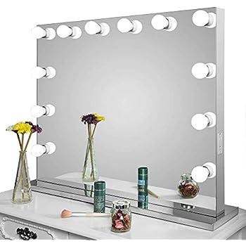 Amazon Com Homelo Frameless Vanity Mirror With Light