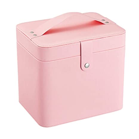 Estuche de maquillaje Bolso cosmético portátil rosado para ...