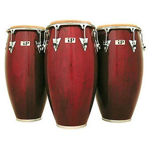 Latin Percussion LP Classic Model Wood 12-1/2'' Tumbadora - Wine Red/Chrome by Latin Percussion