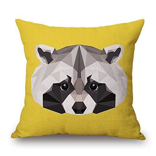 DIY DASE Funda de cojín Decorativa de algodón para sofá ...