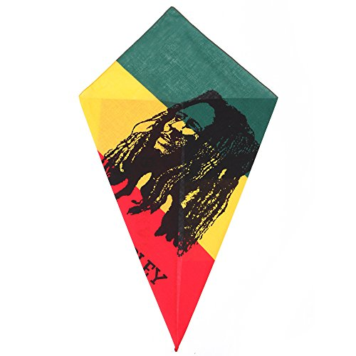 Bandana Bob Marley Portrait Head Scarf (Bob Marley Bandana)