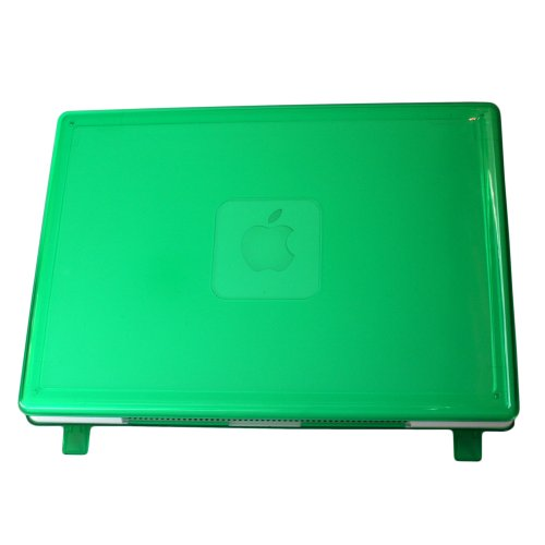 mCover GREEN iPearl Hard Shell Case for Model A1181 original 13-inch black/white MacBook released before Oct. 20, 2009 (Orig Box)