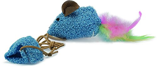 OurPets Play-N-Squeak Wee Catch of the Day Kitten - Play Pets Kitten N-squeak