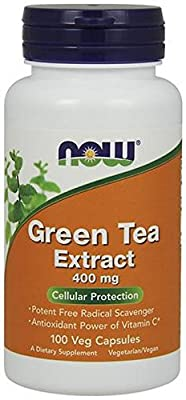 Now Foods, Green Tea Extract 400 mg