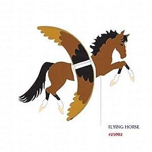 Amazoncom Premier Designs Flying Horse Spinner Wind