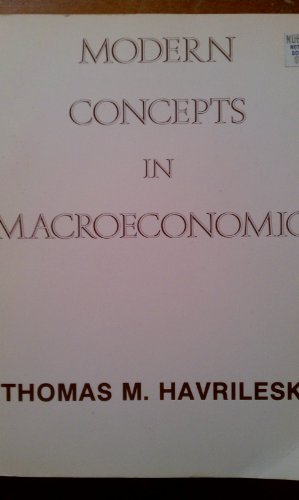 Modern Concepts in MacRoeconomics