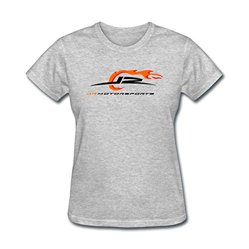 XIULUAN Women's JR Motorsports Logo NASCAR Camping World Truck Series T-shirt Size M ColorName Short Sleeve (Leonardo Truck Monster)