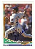 Autograph Warehouse 53549 Mike Maddux Autographed Baseball Card New York Mets 1994 Topps No .217