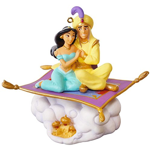Hallmark Keepsake 2017 Disney Aladdin 25th Anniversary Christmas Ornament With Music (Ornaments Christmas Tree Collectible)