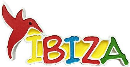 MUYU Magnet Imán para Nevera Ibiza España 3D, Estilo de Letras, Adhesivo de Viaje, decoración para el hogar y la Cocina, imán para Nevera de España: Amazon.es: Hogar