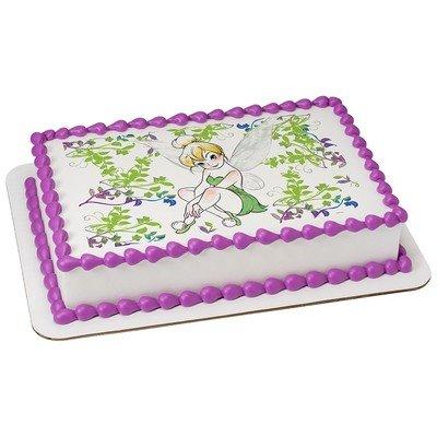 1/4 Sheet -Tinker Bell - Edible Cake/Cupcake Party Topper!!!