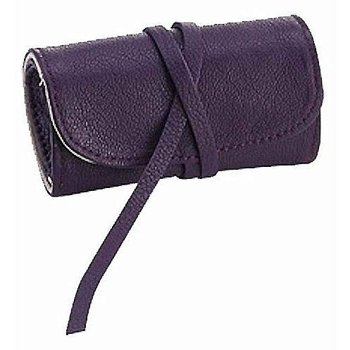 Brights Purple Fine Leather Jewel Roll by Graphic ImageTM -