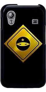 Funda para Samsung Galaxy Ace (GT-S5830) - ¡cuidado! Ninjas Por Delante by AnishaCreations