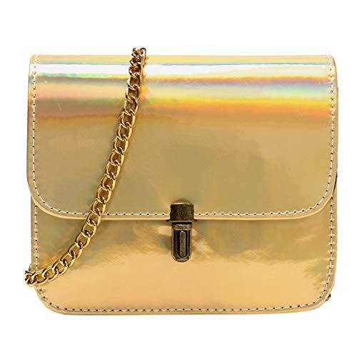 - Bsjmlxg 2019 New and Hot Pop Women's Laser Leather Wild Crossbody Bags Messenger Shoulder Bag Beach Bag Phone Bag