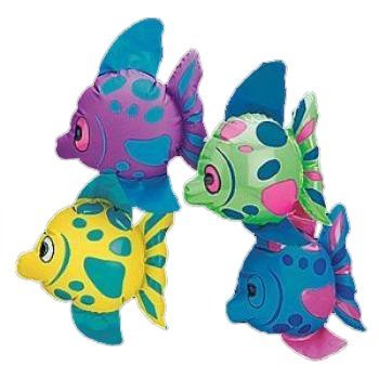 Fun Express Mini Inflatable Fish (1 Dozen) by Fun Express