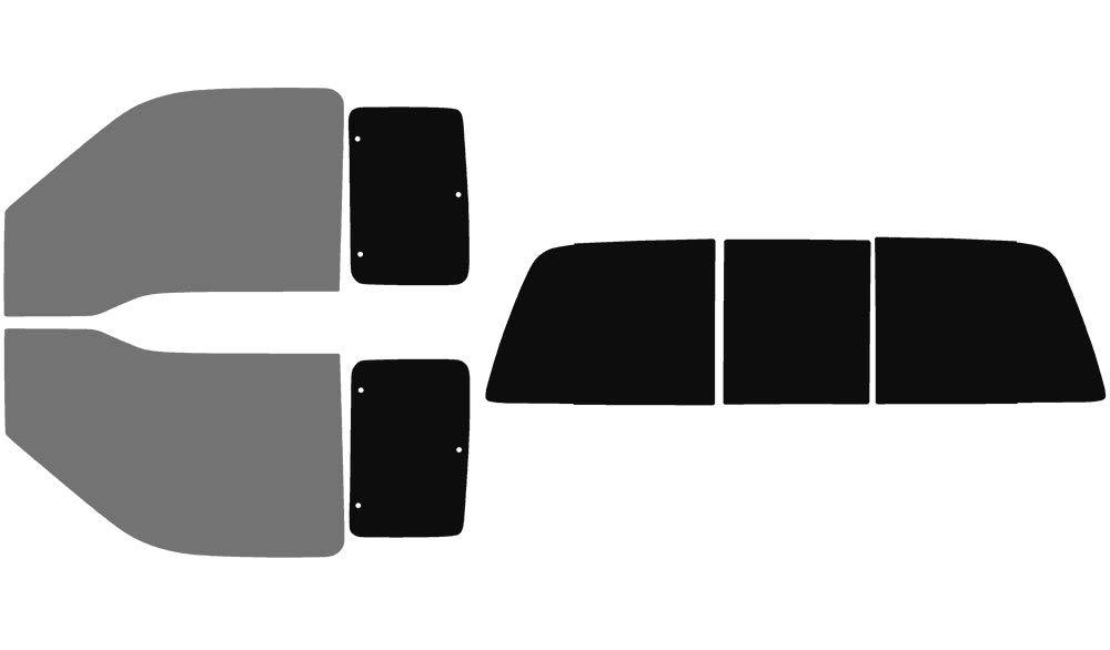 Precut Window Tint Kit Includes: Front Door Window precuts in 30/% Fits: 2nd /& 3rd Generation 2008-2016 Ford F-250 F-350 Super Duty SuperCab Truck Automotive Window Film