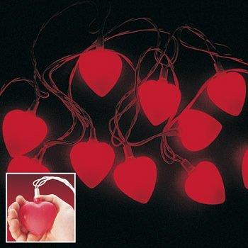 8' Heart Light Set - Valentine Heart Light Set