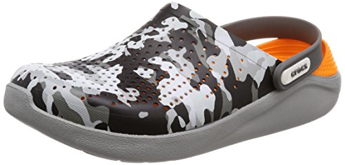 U Crocs Gris Adulto Unisex Zuecos Graphic light 97a Literide camo Clog Grey CrZCwgq7t