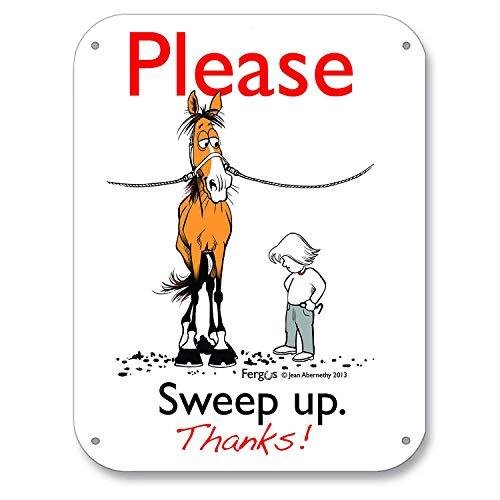 FERGUS Stall/Barn Sign Sweep Up