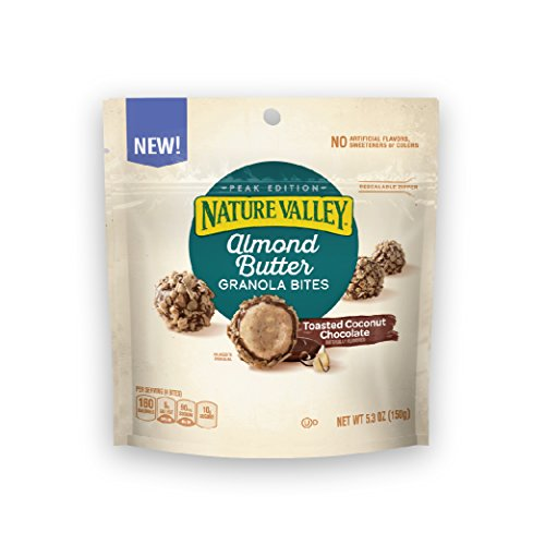 Butter Almond Toasted - Nature Valley Almond Butter Toasted Coconut Chocolate Granola Bites 5.3oz