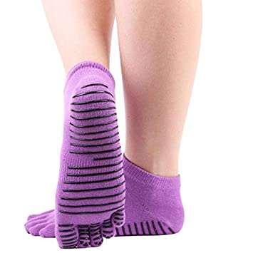 HATCHMATIC Pro Mujeres Calcetines Yoga Pilates señoras de ...