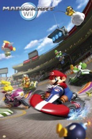 Mario Kart - Nintendo Gaming Poster
