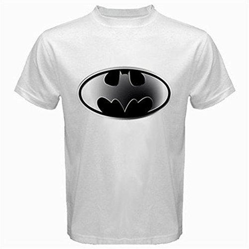 [DC Comics Batman Hush Logo II T-Shirt for Adults, Men, Boys- Small - White] (The Riddler Suit)
